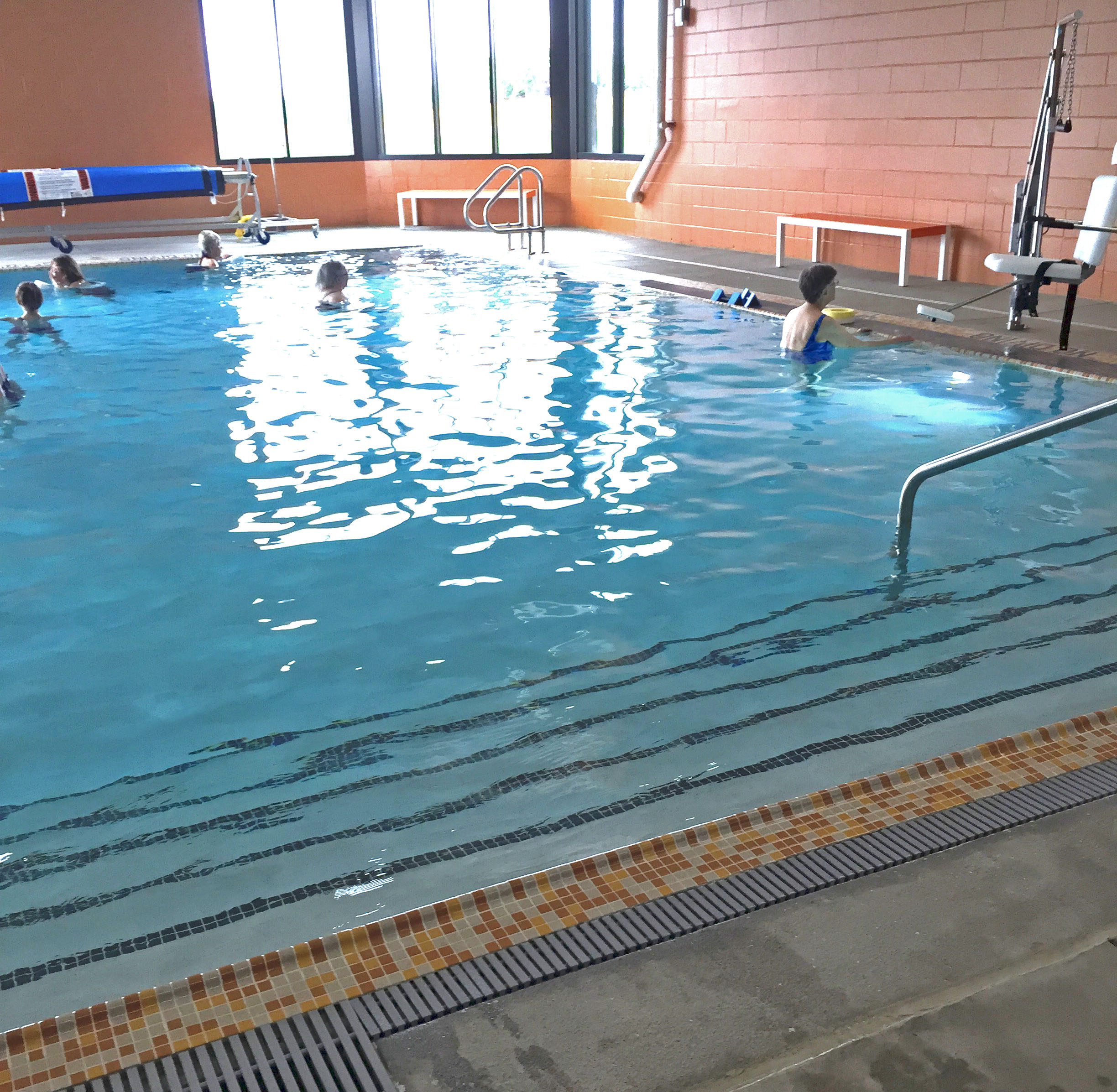Physical Therapy Warm Water Pool